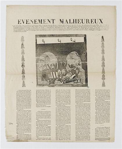 EVENEMENT MALHEUREUX (titre inscrit)