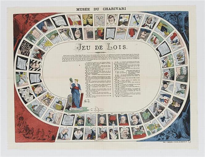 MUSEE DU CHARIVARI / JEU DE LOIS (titre inscrit)
