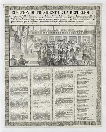 ELECTION DU PRESIDENT DE LA REPUBLIQUE (titre inscrit)