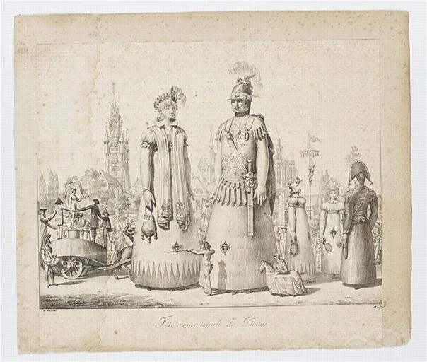 Fête communale de Douai (titre inscrit)
