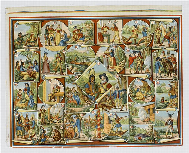 Le jeu du trappeur Bas-de-Cuir (titre factice)
