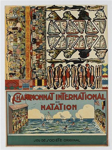 CHAMPIONNAT INTERNATIONAL DE NATATION (titre inscrit)