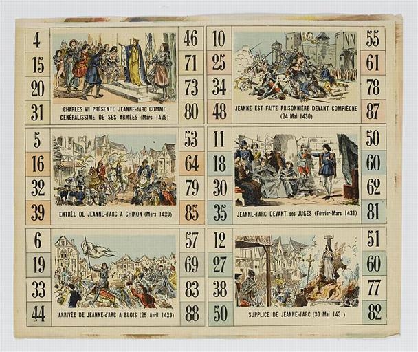 Six scènes de la vie de Jeanne d'Arc (titre factice)