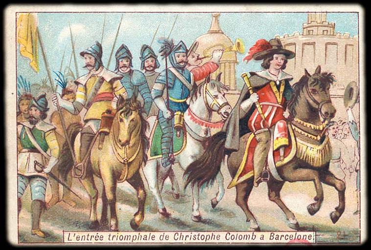 L'entrée triomphale de Christophe Colomb à Barcelone (titre inscrit)_0