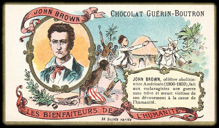 LES BIENFAITEURS DE L'HUMANITÉ ; JOHN BROWN (titre inscrit)