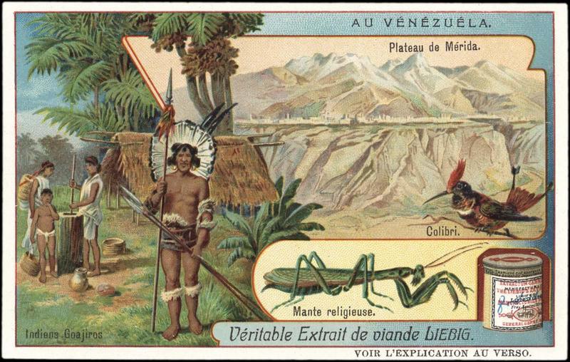 AU VENEZUELA (titre inscrit)