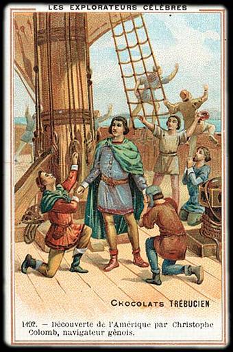 1492. - Découverte de l'Amérique par Christophe / Colomb, navigateur gêneois (titre inscrit)_0