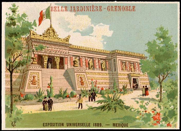 EXPOSITION UNIVERSELLE 1889. - MEXIQUE (titre factice)