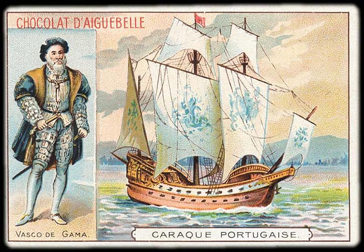 VASCO DE GAMA / CARAQUE PORTUGAISE (titre inscrit)