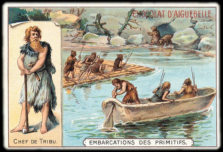 CHEF DE TRIBU / EMBARCATIONS DES PRIMITIFS (titre inscrit)