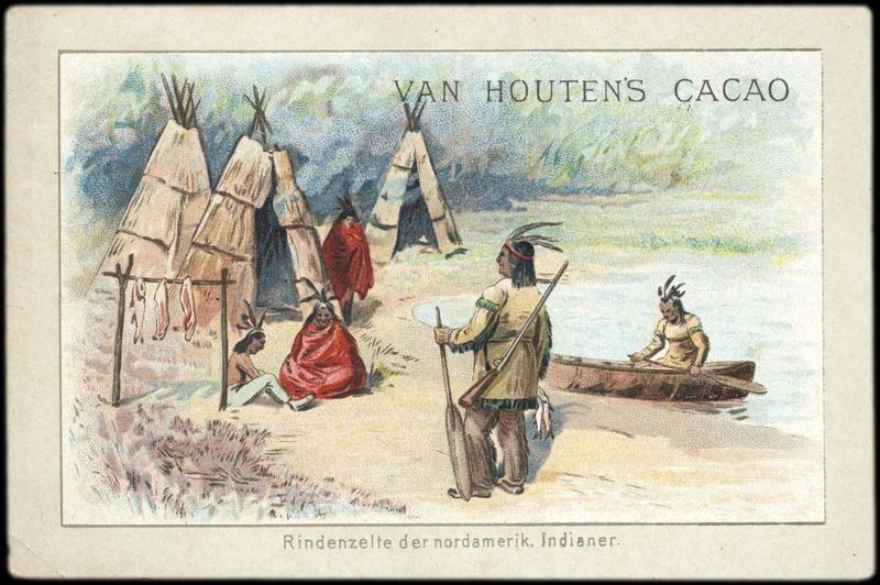 Rindenzelte der nordamerik. Indianer (titre inscrit, allemand)