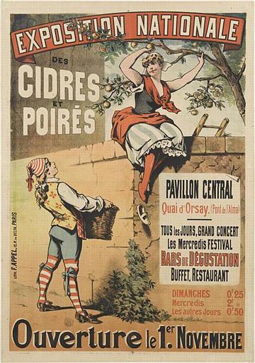 EXPOSITION NATIONALE / DES CIDRES / ET / POIRÉS (titre inscrit)_0