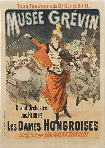 MUSEE GREVIN / Grand Orchestre / Jos. HEISLER / LES DAMES HONGROISES / Dirigées par HAJNALKA THUOLDT (titre inscrit)