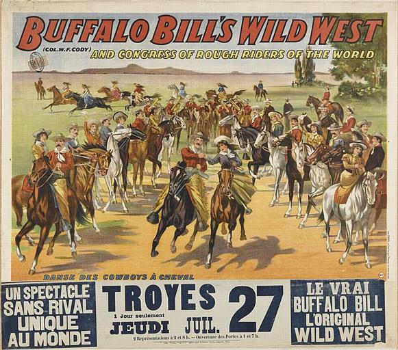 BUFFALO BILLS WILD WEST (titre inscrit)