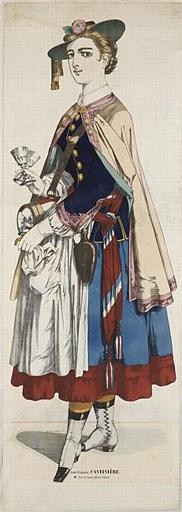 Armée Française, CANTINIÈRE (titre inscrit)