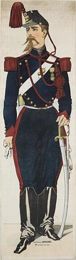 Armée Française (ARTILLERIE.) (titre inscrit)