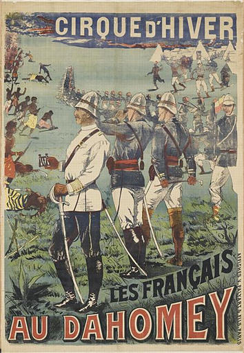 CIRQUE D'HIVER / LES FRANçAIS / AU DAHOMEY (titre inscrit)