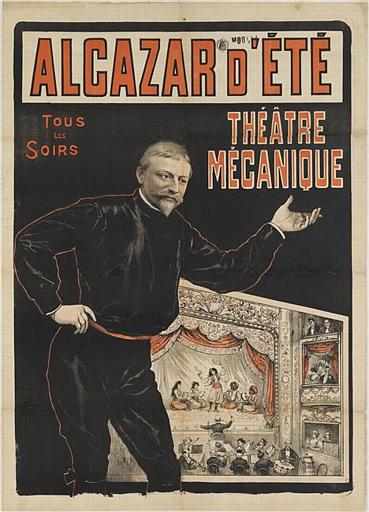 ALCAZAR D'ÉTÉ / TOUS / LES / SOIRS / THÉÂTRE MÉCANIQUE (titre inscrit)