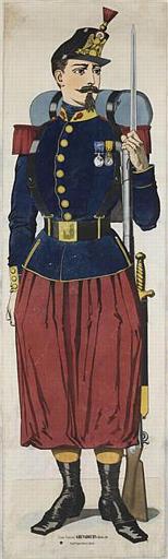 (Armée Française) GRENADIER Infanterie de Ligne (titre inscrit)