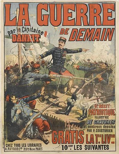 LA GUERRE / DE DEMAIN / par le Capitaine / DANRIT (titre inscrit)