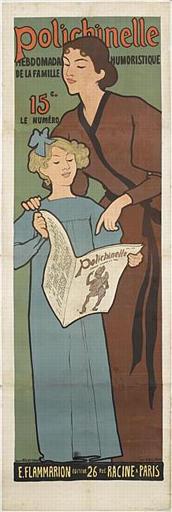 Polichinelle / HEBDOMADAIRE HUMORISTIQUE / DE LA FAMILLE / 15C. / LE NUMÉRO (titre inscrit)