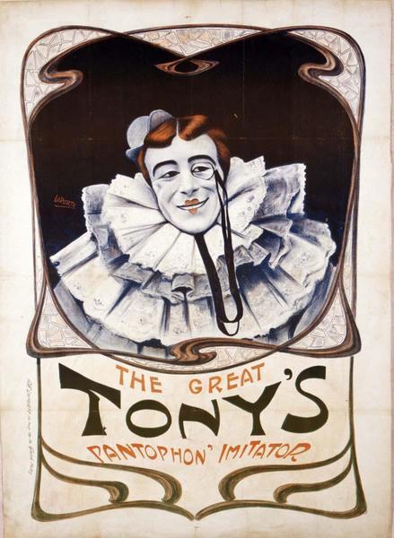THE GREAT / TONY'S / PANTOPHON' IMITATOR (titre inscrit, anglais)