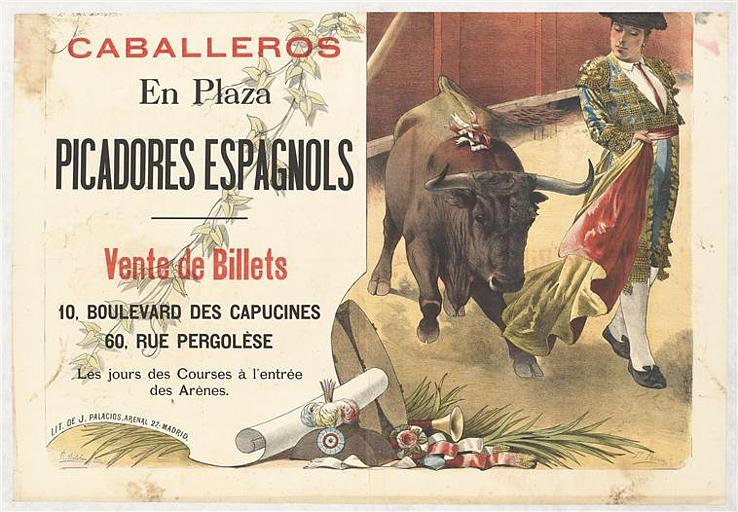 CABALLEROS / En Plaza / PICADORES ESPAGNOLS (titre inscrit)_0