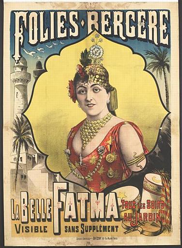 FOLIES-BERGÈRE / LA BELLE FATMA (titre inscrit)_0