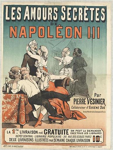 LES AMOURS SECRÈTES / DE / NAPOLÉON III (titre inscrit)_0