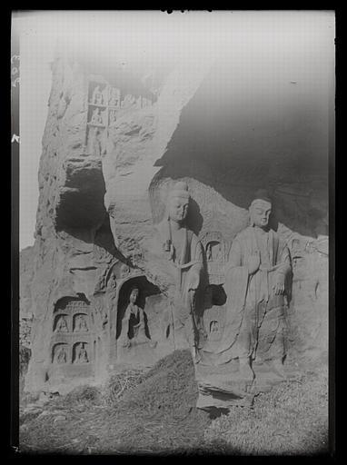 ZHOU : [Shanxi]. Yun-kang [Yungang], grotte A, paroi occidentale