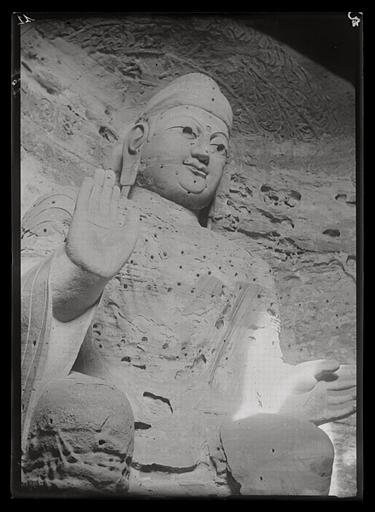 [Shanxi]. Yun-kang [Yungang], grotte à l'est du temple