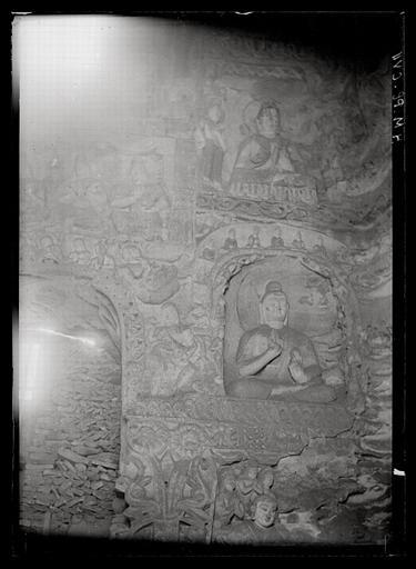 [Shanxi]. Yun-kang [Yungang], grotte n°4