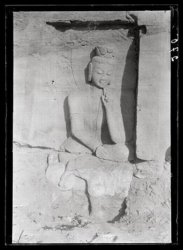 [Shanxi]. Yun-kang [Yungang], grotte G, paroi orientale