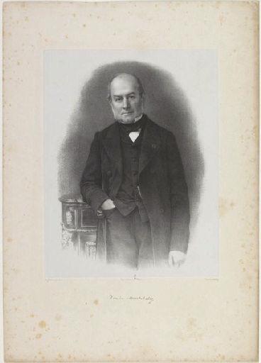 LEMOINE Auguste Charles (lithographe), PIERSON Pierre Louis (photographe), LEMERCIER & Cie (imprimeur) : Duc de Montebello