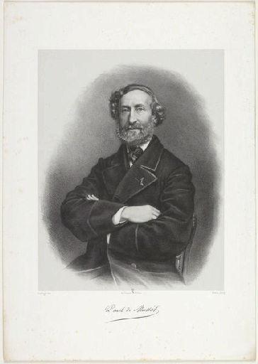 DHARLINGUE (lithographe), PIERSON Pierre Louis (photographe), LEMERCIER & Cie (imprimeur) : Paul de Musset