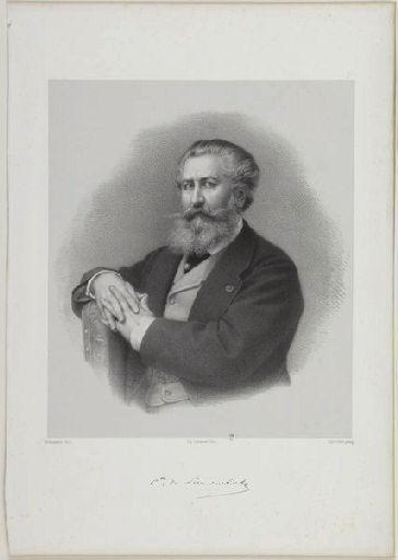 CHARPENTIER Amédée (lithographe), PIERRE (photographe), LEMERCIER (imprimeur) : Nieuwerkerke
