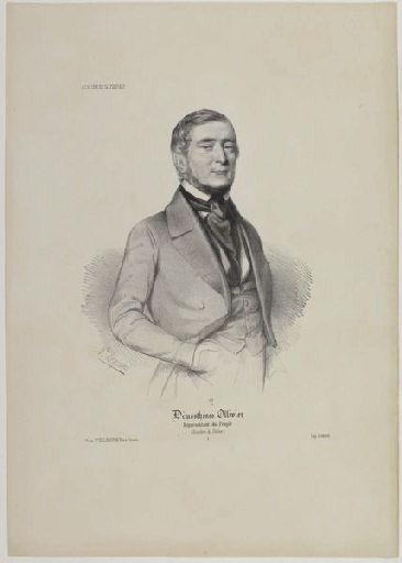 LEGRAND Auguste (lithographe), DOMNEC (imprimeur) : Démosthènes Ollivier