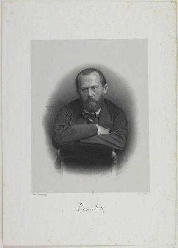 MAYER ET PIERSON (photographe), LAFOSSE Adolphe (lithographe), LEMERCIER & Cie (imprimeur) : Perraud
