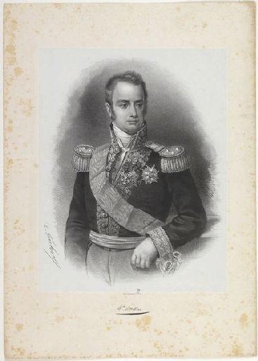 FUHR Charles Jérémie (lithographe), LEMERCIER & Cie (imprimeur) : Baron Roussin