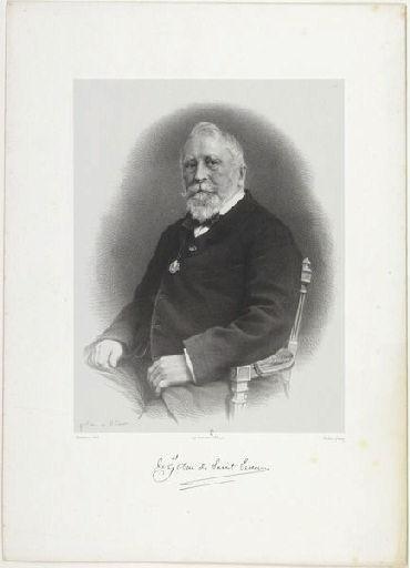 Le général duc de Saint-Simon