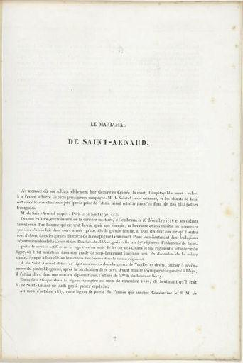 Maréchal de Saint-Arnaud