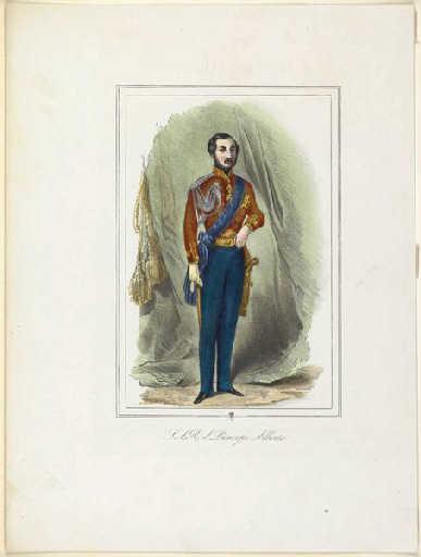 Portrait en pied du Prince Albert_0