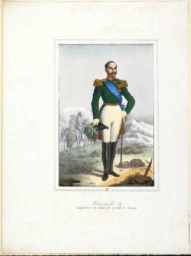 Portrait en pied du tsar Alexandre II_0