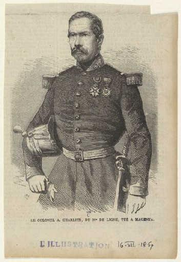 Le Colonel A. Charlier