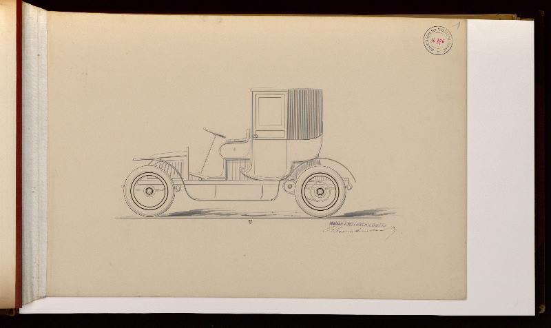 MAISON JOSEPH ROTHSCHILD & Fils (carrossier), RHEIMS & AUSCHER (carrossier) : Modèle de coupé