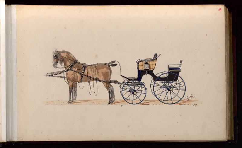 Modèle de poney chaise_0