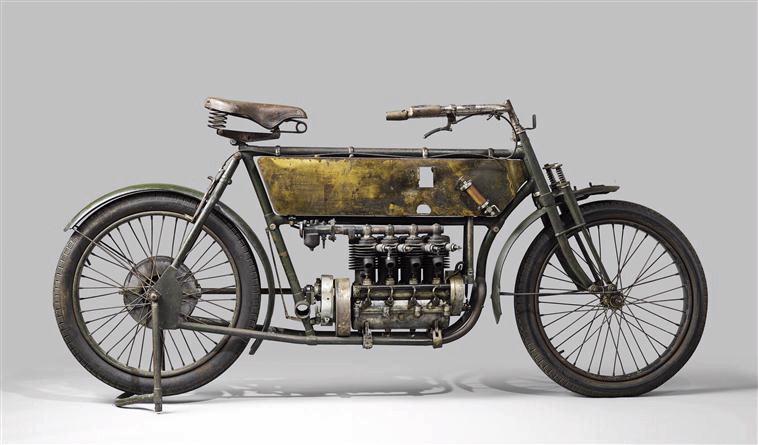 ANTOINE Frères : Motocycle Antoine