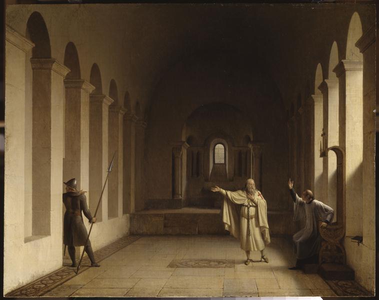 Jacques de Molay, grand maître des Templiers_0