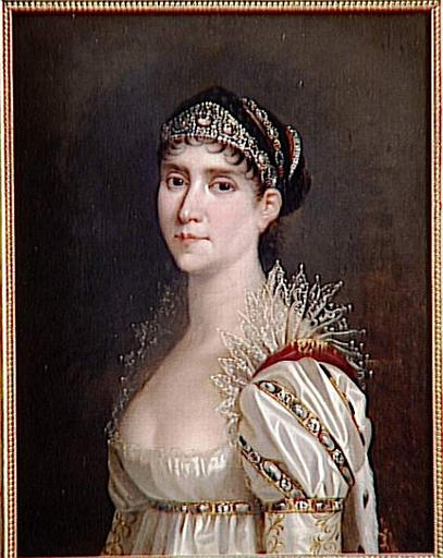 L'Impératrice Joséphine en robe de cour à chérusques_0