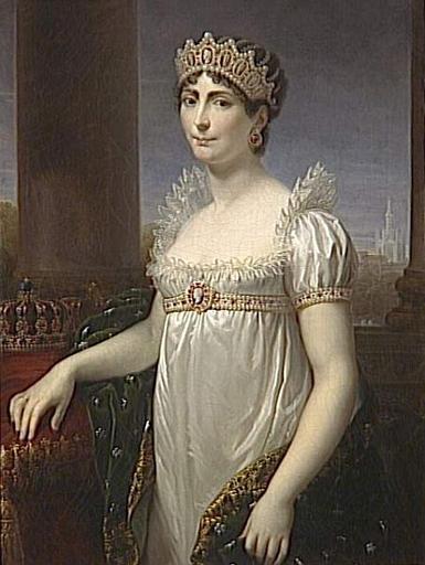 Portrait de l'Impératrice Joséphine (1763-1814), en costume de Reine d'Italie_0